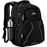 High Sierra - High Sierra Swerve 17 inch Computer Backpack - Black