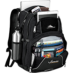 - High Sierra Swerve 17 inch Computer Backpack - Black