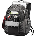 - High Sierra Swerve Big Wig 17 in Computer Backpack - Black