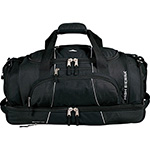High Sierra - High Sierra® Colossus 26 inch Drop Bottom Duffel Bag - Black