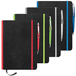 Journals and Compendiums  - A5 Barranco JournalBook with Coloured Spine