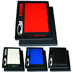 - Gift Set with JB1008 Journal, 7701 Jolt Charger & 6012 Danley Pen (in Black)