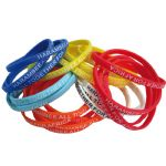 - Thin 6mm Silicon Wristbands