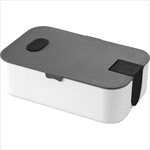 - 2 Compartment Bento Box with Phone Stand