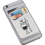 - Dual Pocket Slim Silicone Phone Wallet