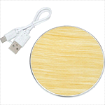 - Rustic Wireless Charging Pad