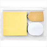 Desktop Items - Sticky Notes in Pouch