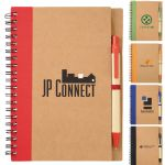 - The Eco Spiral Notebook with Pen