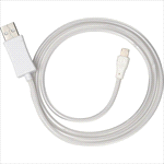 - 2-IN-1 Light Up Charging Cable