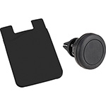 Card Holder - Magnetic Phone Mount w/ Silicone Wallet