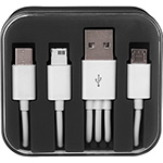 Cables - Tril 3-in-1 Charging Cable in Case