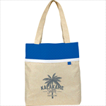 Tote Bags - Deluxe Lined Linen Tote