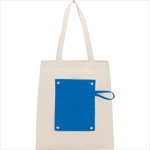 - 6oz Cotton Canvas Packable Snap Tote
