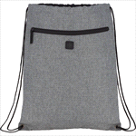 - Graphite Drawstring Sportspack w/ Earbud