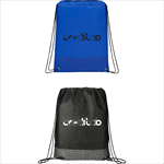 - Crossweave Heat Sealed Drawstring Bag