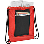 - Zippered Ripstop Drawstring Sportspack