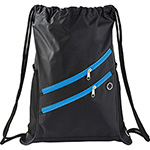 - Two Zipper Deluxe Drawstring Sportspack