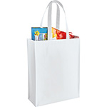 - Mid-Size Laminated Shopper Tote