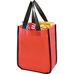 - Small Laminated Shopper Tote