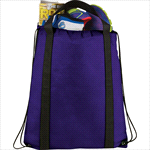 - Grab Non-Woven Drawstring Bag