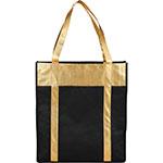 Tote Bags - Metallic Non-Woven Shopper Tote