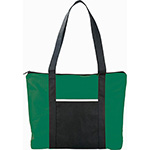 Tote Bags - Timeline Non-Woven Zipper Business Tote