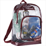 - Rally Clear Backpack