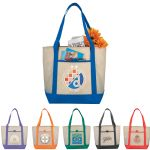 Tote Bags - Lighthouse Non-Woven Boat Tote