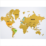 - Wanderlust World Scratch Map