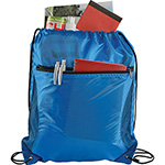 - Zippered Side Mesh Drawstring Sportspack