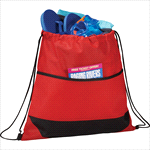 - Angles Non-Woven Drawstring Bag