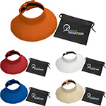 - Beachcomber Roll-Up Sun Visor with Pouch