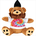 - 6 inch Plush Hipster Bear with Shirt