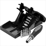 - 11 Piece Collapsible Tool Set with Stand