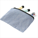 - Recycled 5oz Cotton Twill Pouch