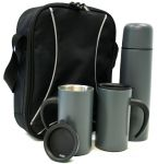 Tea and Coffee  - Trekk™ Thermal Set - Black
