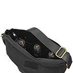 Leisure Brands - Trekk™ Oilskin Wine Bag - Black