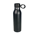 Sports Bottles  - Trekk Double Walled Drink Bottle  - Black