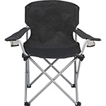 Leisure - Oversized Folding Chair - Black
