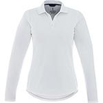 Polos - MORI Long Sleeve Polo - Womens