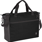 Business & Computer Bags - Tranzip Brief 15 inch Computer Tote - Black