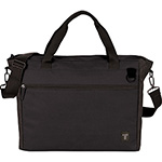 Bag Brands - Tranzip Brief 15 inch Computer Tote - Black