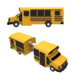 Existing PVC Moulds - School Bus USB Flash Drive