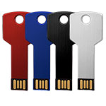 Stocked & 5 Day Service - Coloured Key USB Flash Drive