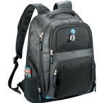 Zoom - Zoom® Checkpoint-Friendly Compu-Backpack - Black